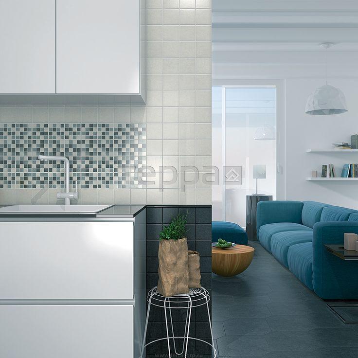 Интерьер фабрики Kerama Marazzi коллекция плитки для кухни Корсо ID-2354