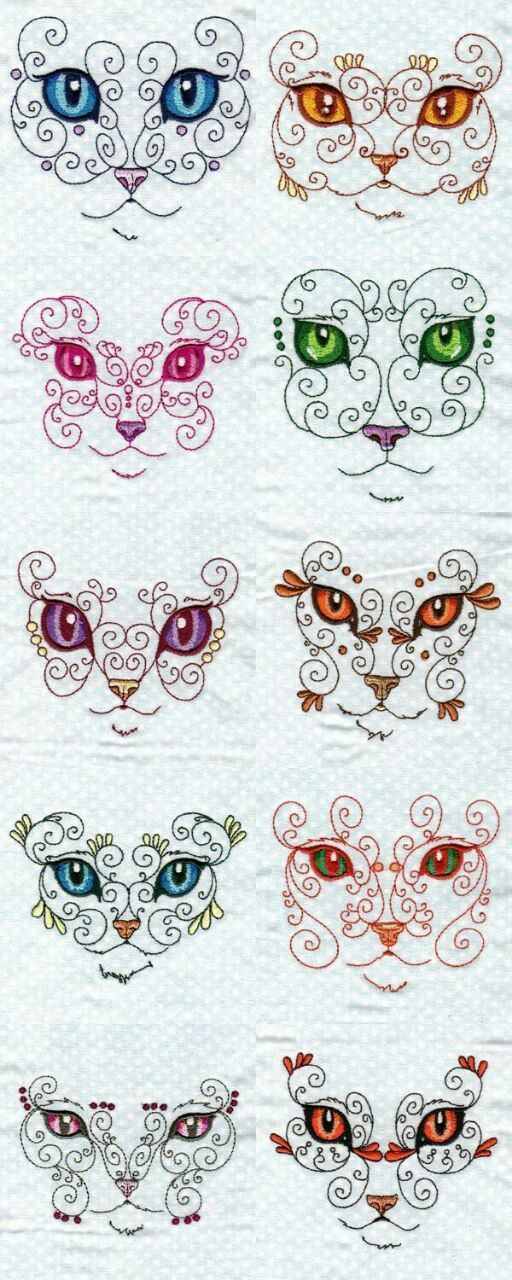 Wow!  Kitty Designs!