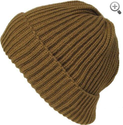 Alki'i Men's Cuffed thick warm beanie snowboarding hats #Alkii #Mens #Cuffed