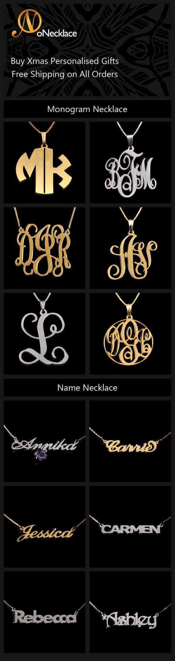 win an infinity necklace