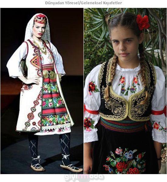 Sırbistan Geleneksel Kıyafetleri