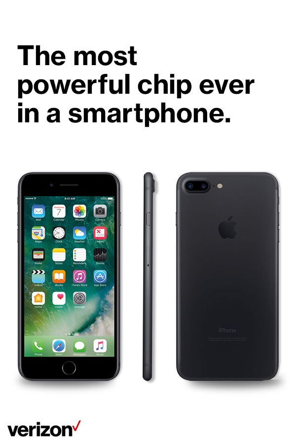 The iPhone 7 is supercharged by the most powerful chip ever in a smartphone. It's not just faster than any previous iPhone—it's also more efficient.