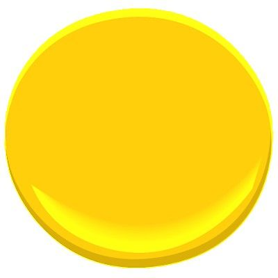 We're painting one wall with this Sunshine color -- the wall that's opposite the backsplash.