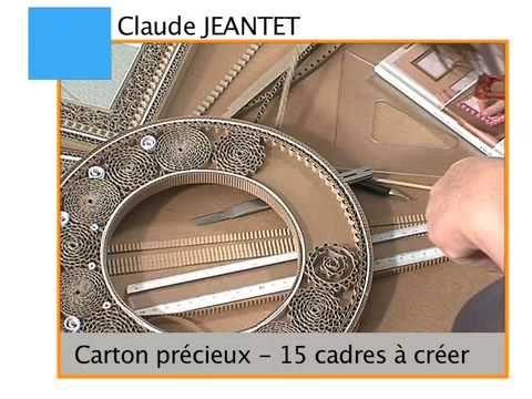 Carton précieux- 15 Cadres à créer