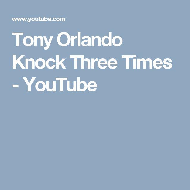 Tony Orlando Knock Three Times - YouTube