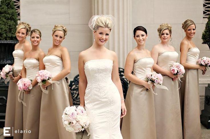 Стильное платье для подружки невесты