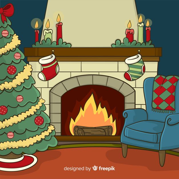 Download Fireplace Scene Background For Free In 2020 Vector Free Free Christmas Backgrounds Free