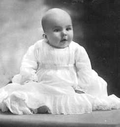 Prince Mircea of Romania (3 Jan. 1913--2 Nov. 1916), 3rd son and 6th and youngest child of Queen Marie and King Ferdinand. Like his older sister Ileana, Mircea's likely father was Barbu Stirbey, his mother's lover. The tragic little prince died of typhoid fever during WWI when enemy troops were closing in on Bucharest. He was buried very quickly so the Royal Family could escape to unoccupied Moldavia in north-eastern Romania. Mircea was close to his immediate sister, Princess Ileana.