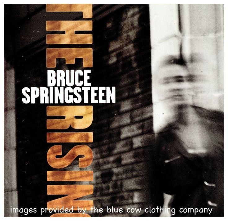Bruce Springsteen - The Rising CD 2002 Columbia ‎– 5080002000