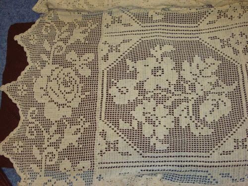 Bedspreads Vintage Filet Crochet Diagrams Application Wiring Diagram