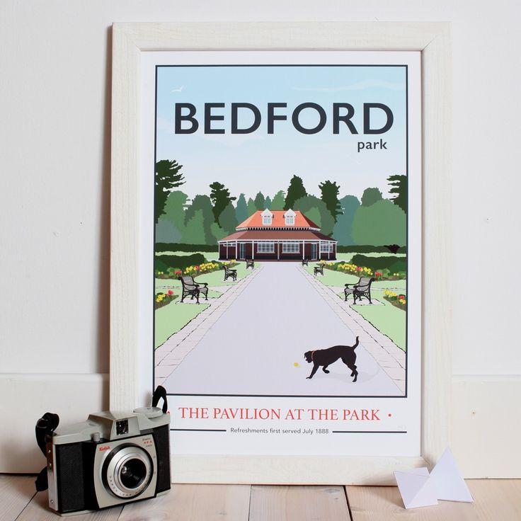 Image of Bedford Park, Pavilion Giclee Print