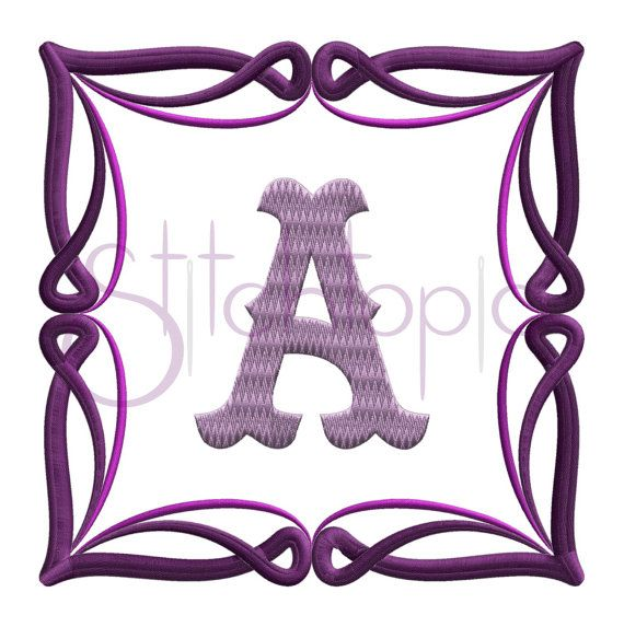 Scroll Twist Embroidery Frame by StitchtopiaInc on Etsy