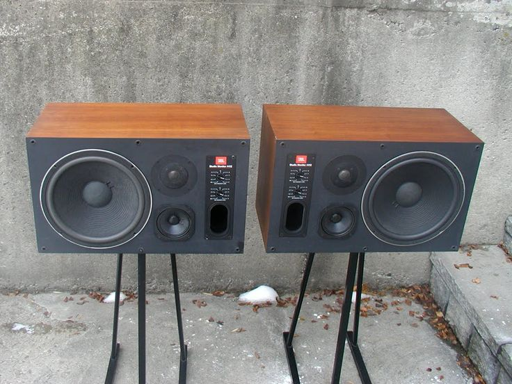 jbl used speakers. jbl 4412 studio monitors. a simple rectangular box that holds the key to virtually all jbl used speakers