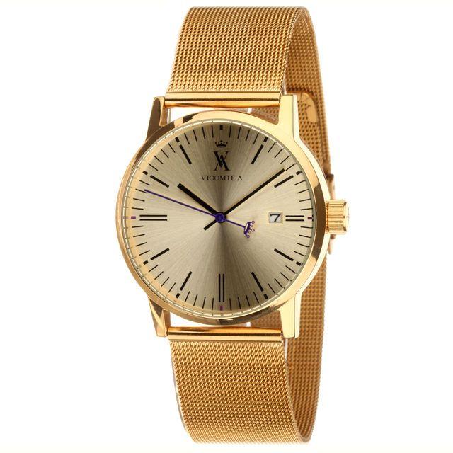 Montre Vicomte Arthur, 49€ au lieu de 139 ! Cliquez sur l'image pour shopper #bazarchic #vicomte #arthur #vicomtearthur #montre #watch #fashion #mode #or #gold