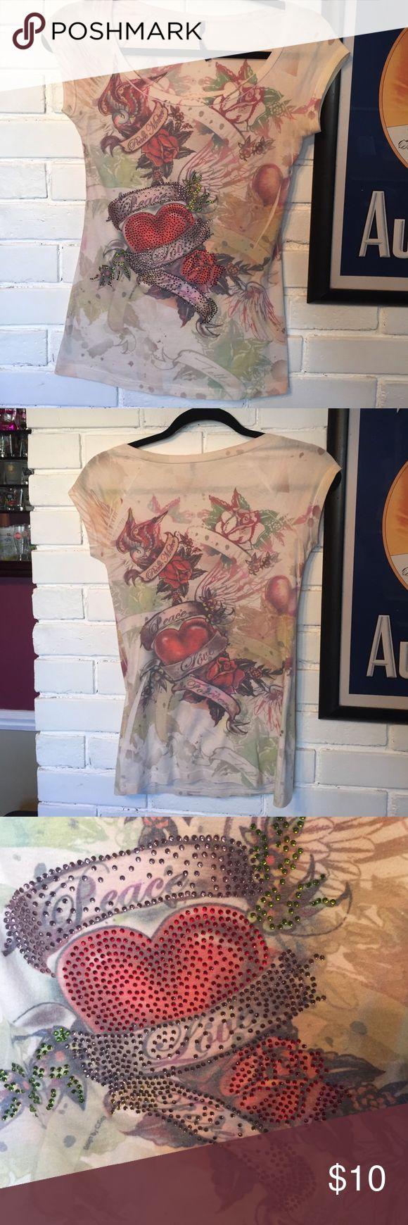 Tee shirt Peace maker t-shirt Tops Tees - Short Sleeve
