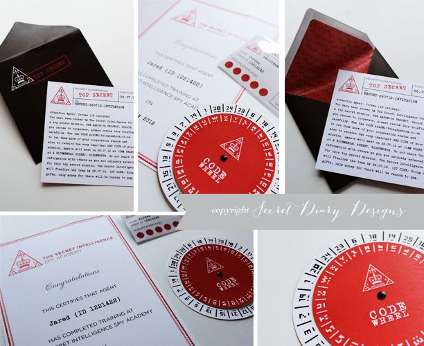 20 best images about Spy Party – Spy Party Invitation