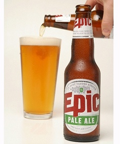 Epic - Pale Ale. Another fine brew from the group at Epic. Nice subtle bitterness from hops but oh so fragrant.