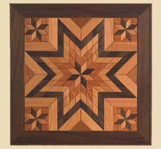 Scroll Saw Projects | All Scroll Saw Projects - Hardwood Quilt Pattern Set