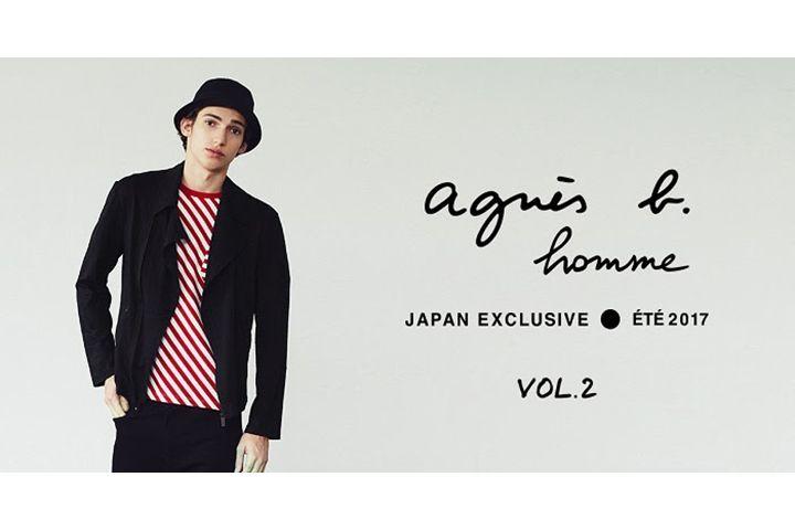 〈アニエスベー オム〉日本限定2017年春夏コレクション第2弾公開   〈アニエスベー オム(agnes b. HOMME)〉は、日本限定(ジャパン エクスクルーシブ)の2017年春夏コレクションを発表した。    この日本限定コレクションは、日本の気候に適した生地選びや日本人男性の体型にフィットするフォルムの開発を積み重ねて誕生した、機能性に長けたシリーズ。〈アニエスベー オム〉が表現するフランスらしい男性像を日本人男性のために再現したという。   ...