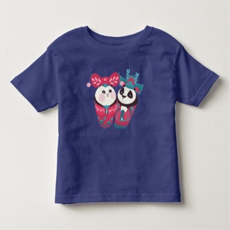 Po Ping and Mei Mei Toddler T-shirt - click to get yours right now!