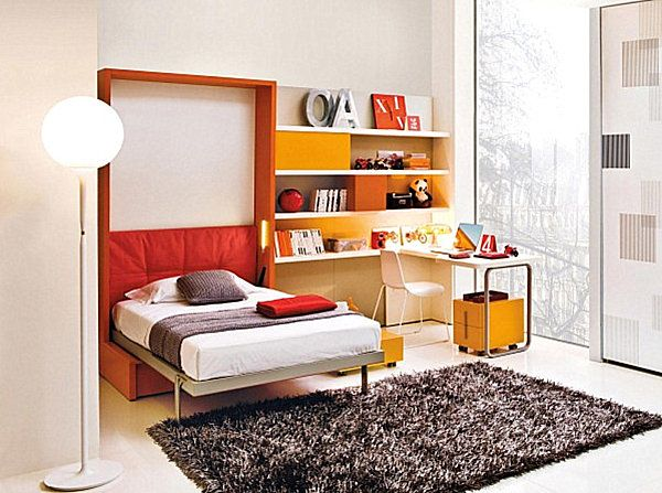 Новаторские кровати-шкафы для маленьких интерьеров