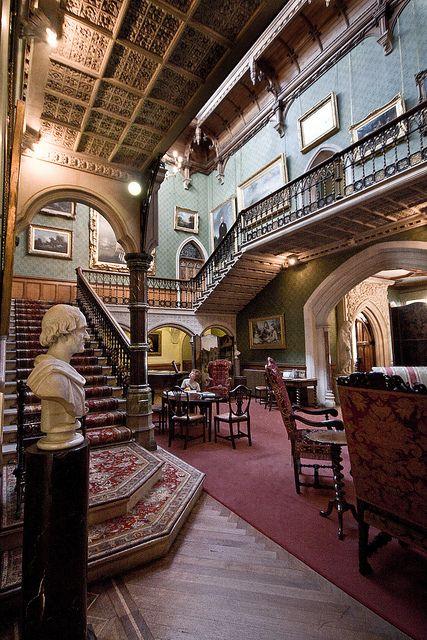 Tyntesfield House Hall Colour By Eddiestannes1 Via