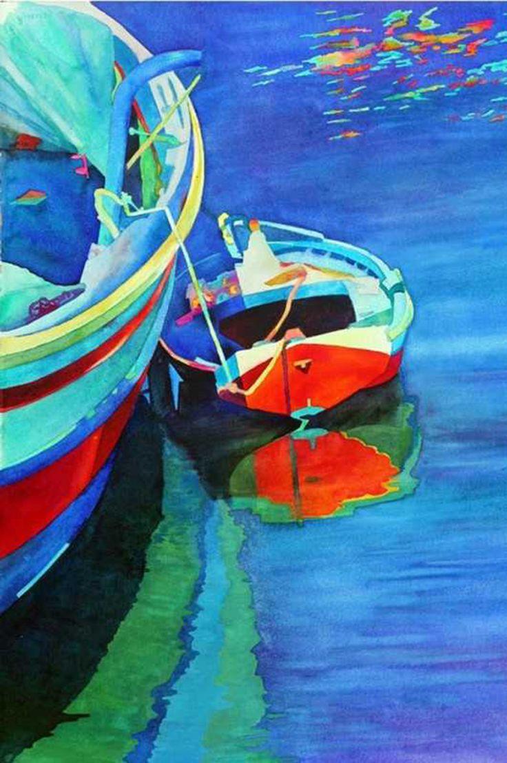 Igor Khaikov   Painting, Landscape art, Watercolor
