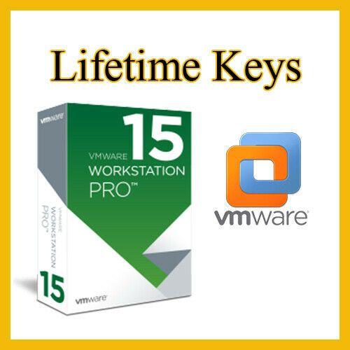 VMware Workstation 15 Pro 2019🔑Lifetime Keys🔑Official ♕ Fast