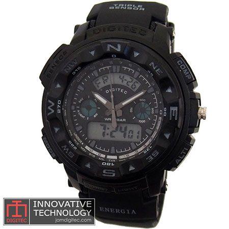 jam tangan digitec DG-2037T hitam