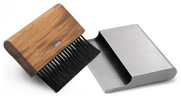 Hand Broom w/ Dust Pan by Skagerak - modern - mops brooms and dustpans - HORNE