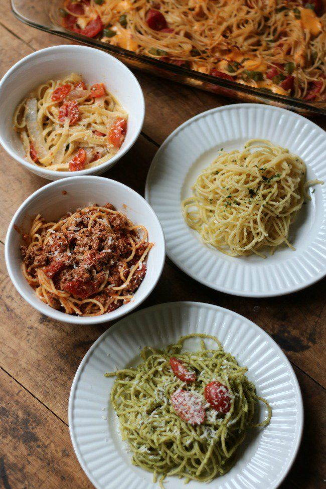 5 Simple Spaghetti Recipes Your Family Will Love