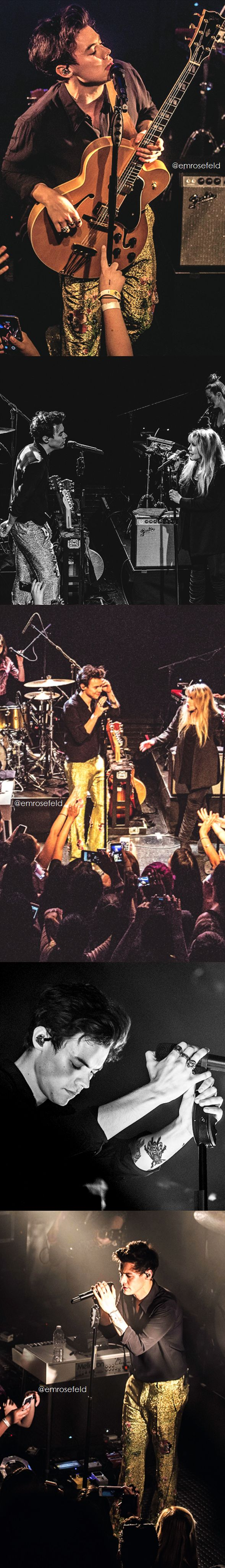 Harry Styles and Stevie Nicks | at the Troubadour 5.19.17 | emrosefeld |