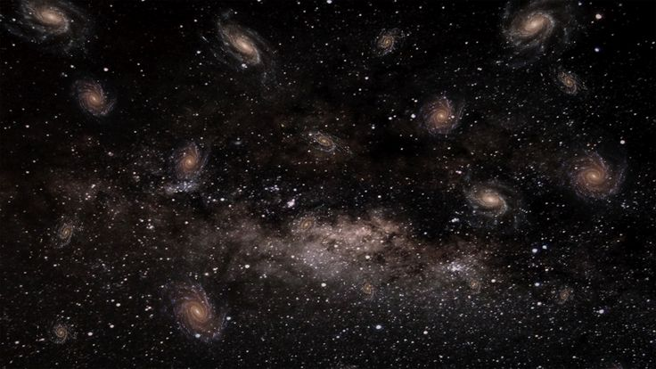 Modelling Galaxy - 3ds max - Vray - PS CS6