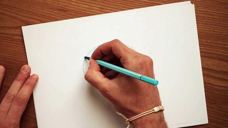 Oltre 25 fantastiche idee su disegni di animali su for Disegni 3d facili per bambini