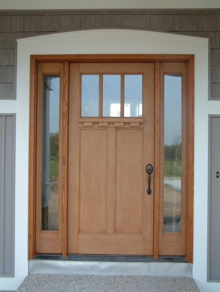 Fiberglass door my next makeover space pinterest - Exterior fiberglass doors ...