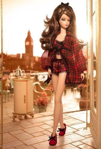 Barbie RARE Lingerie Series Highland Fling Gold Label New in Box Silkstone | eBay