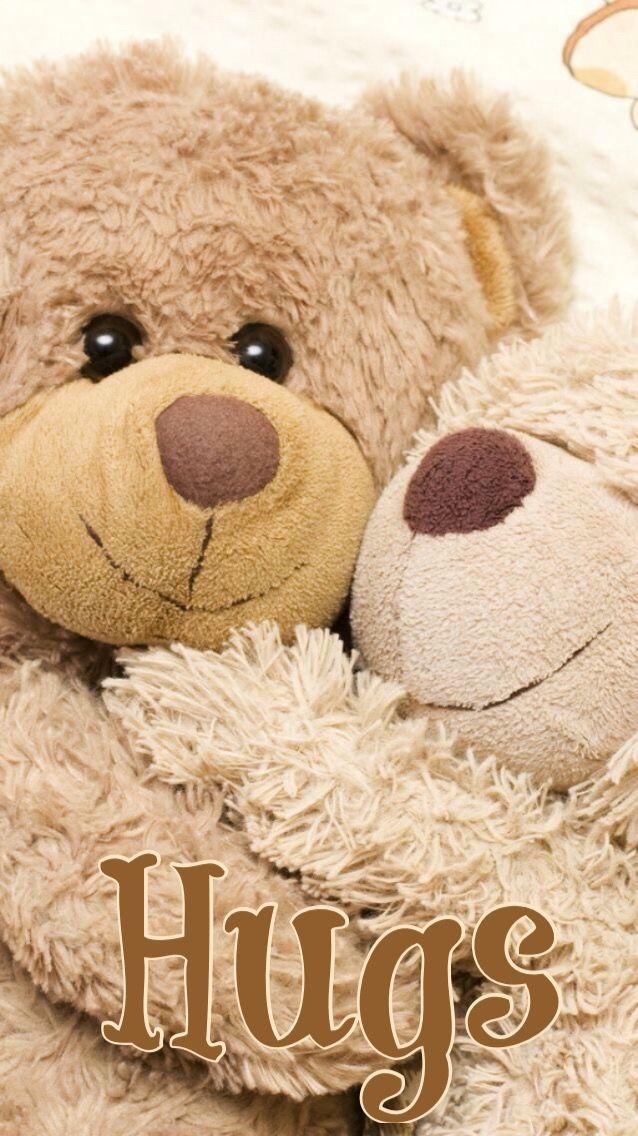 Big Hug From Teddy To My Kitty My Pins For Kitty Wifey Bear