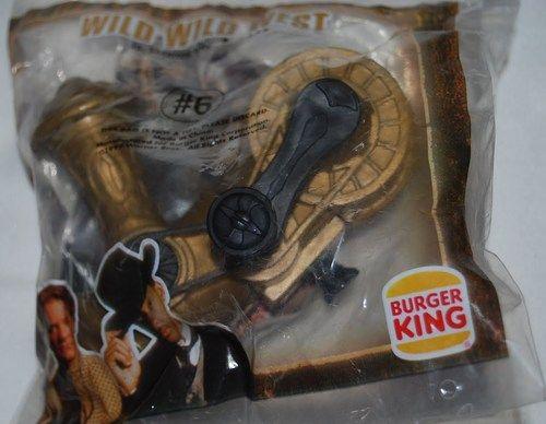 Burger King 1999 Wild Wild West Cannon Toy #6