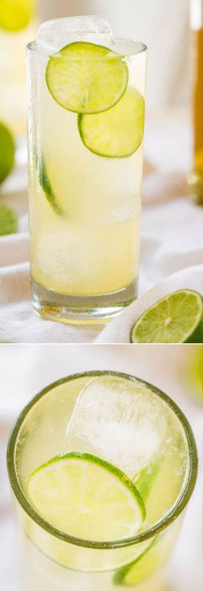 The Best Homemade Margaritas: All-Natural, 3-Ingredients - No sugar so you can sip worry-free! They go down way too easily! #NewYearsEve #drinks