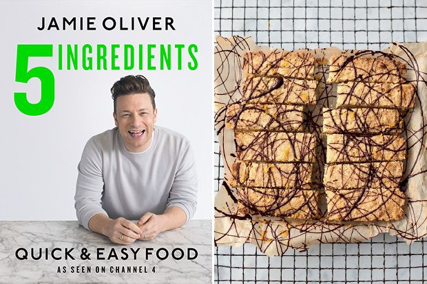 Try this recipe for Chocolate Orange Shortbread from Jamie Oliver'snew cookbook,5 Ingredients: Quick & Easy Food.