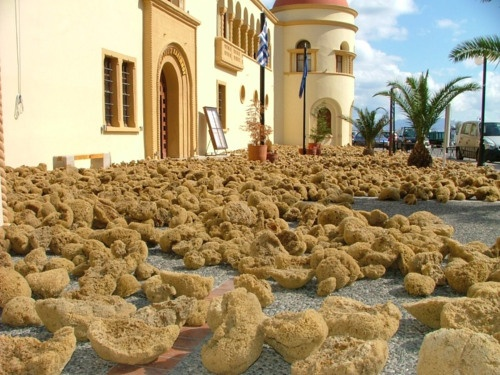 Sponges in the sun, Kalymnos island, Greece    Σφουγγάρια στον ήλιο, Κάλυμνο, Ελλάδα♥