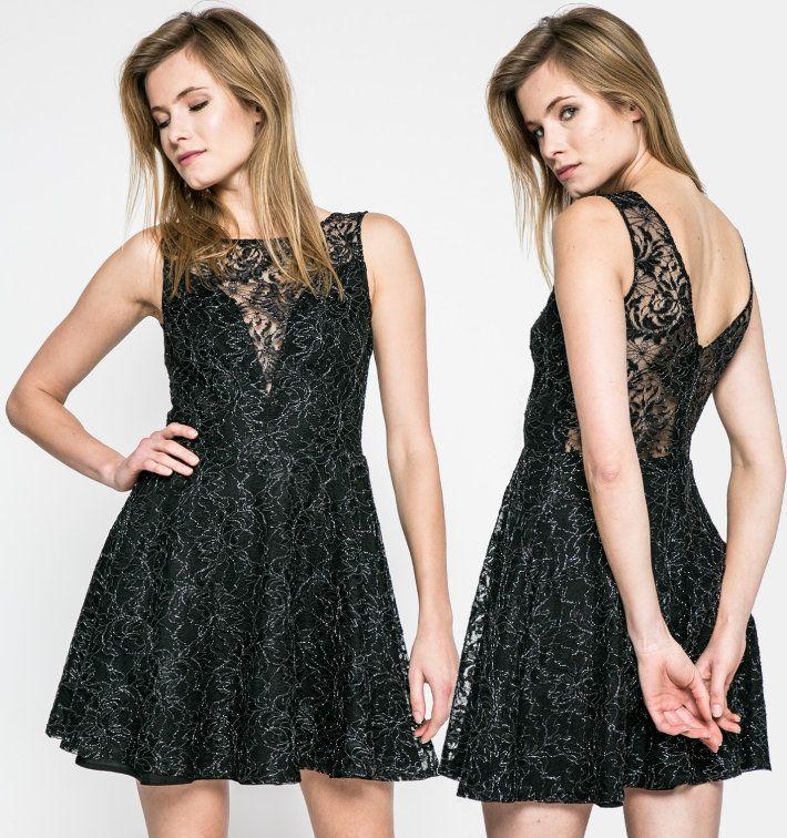 Rochie scurta neagra Kiss my dress