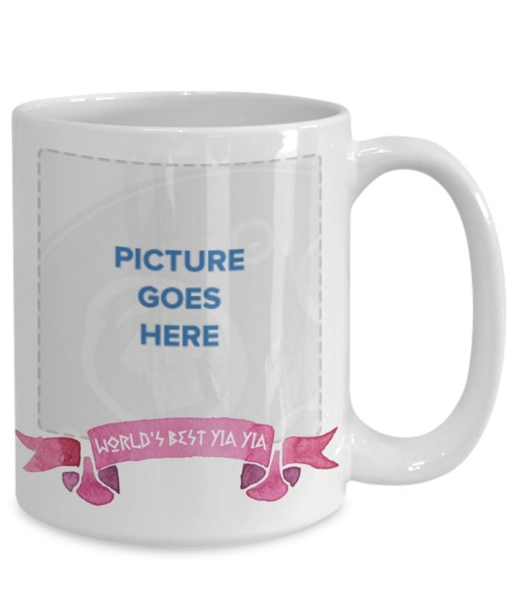 World S Best Yia Yia Photo Mug Greek Grandma Coffee Mug Gift