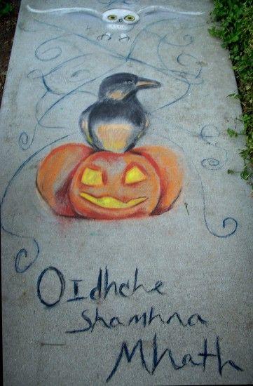 13 Best Images About Halloween Sidewalk On Pinterest