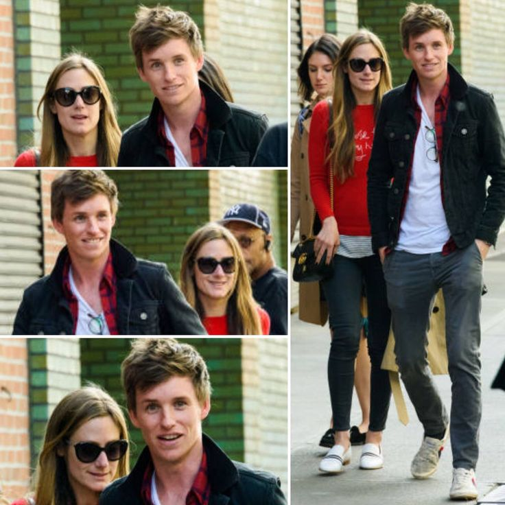 Perfect couple 💕 Eddie Redmayne & Hannah Bagshawe out in NYC (May 2017)
