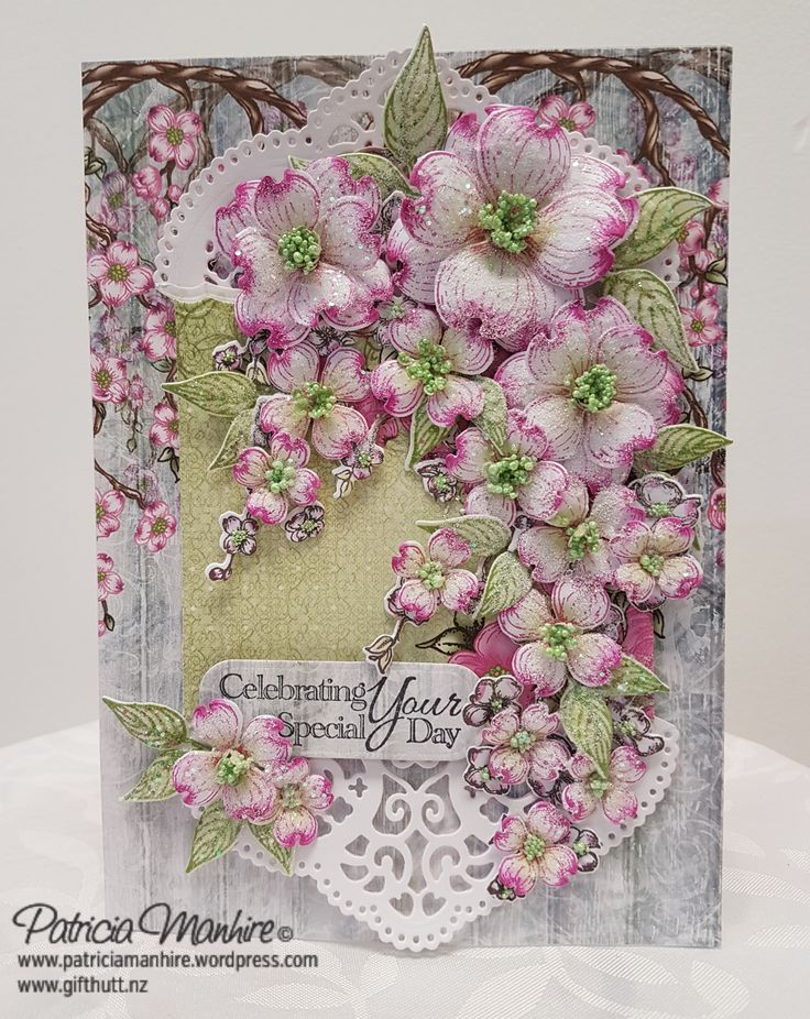 Heartfelt Creations Flowering Dogwood Collection