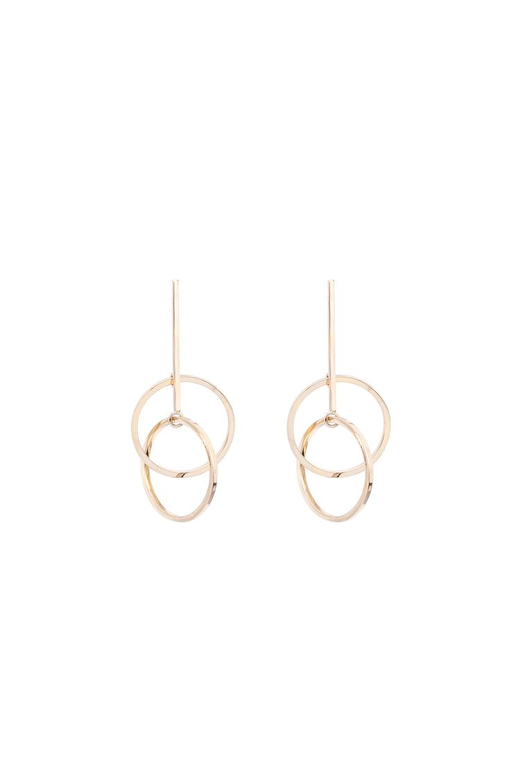 For Her: @cosstores Circular Interlink Earrings £15.00