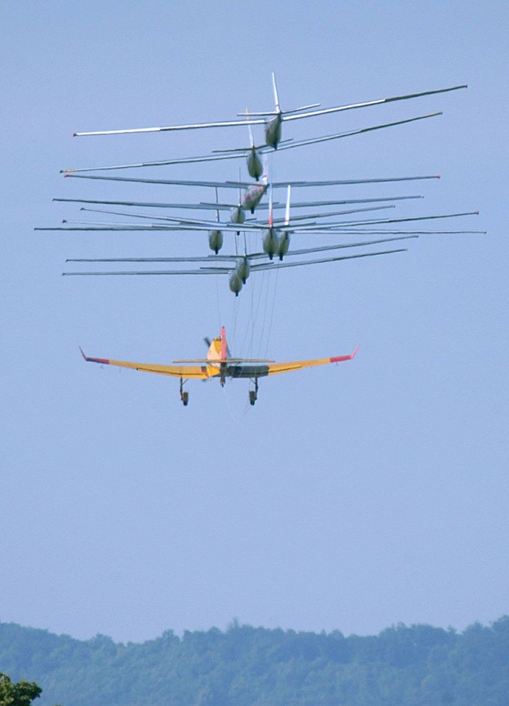 How many sailplanes can you tow, Yikes!
