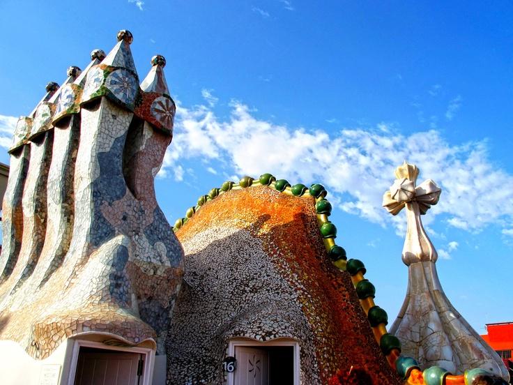Casa Batllo, roof
