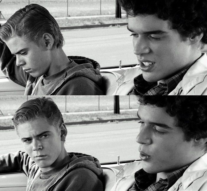 Ponyboy with Randy